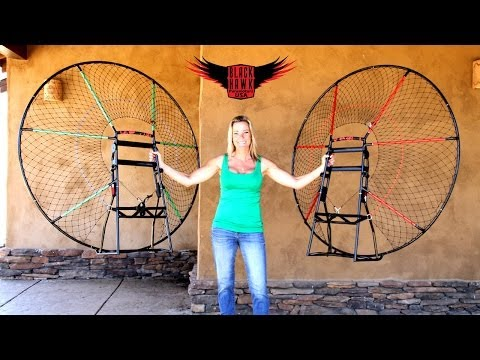 Review: NEW Paramotor Frame Colors For BlackHawk Kestrel Paramotor