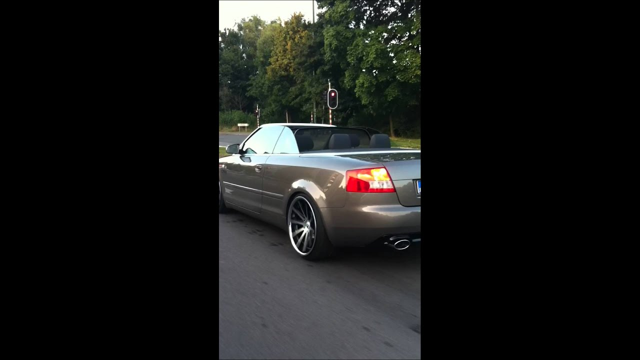 VT-Sports Wheels RC10 Rolling AUDI A4 Cabrio - YouTube