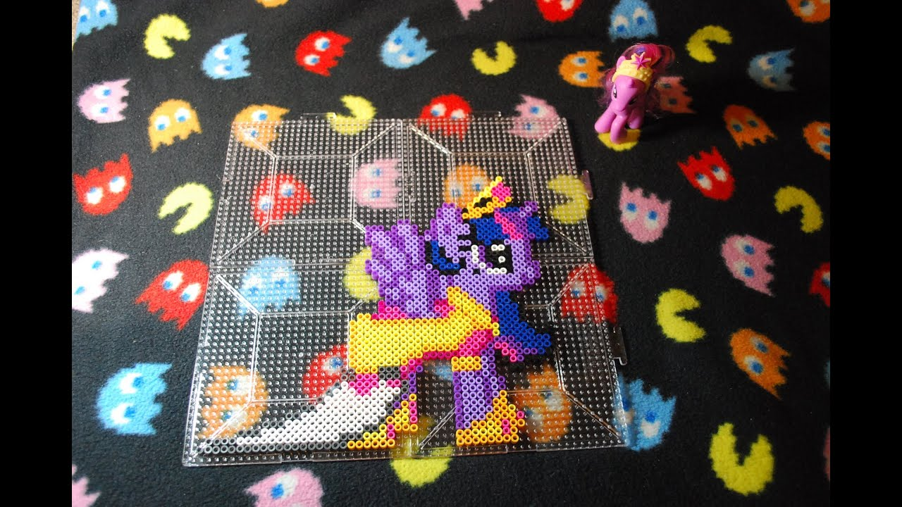 Mlp Princess Twilight Sparkle Perler Bead Stop Motion