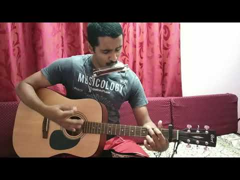 Love You Zindagi| Amit Trivedi| Cover Song |Reuben Machado| Harmonica And Guitar