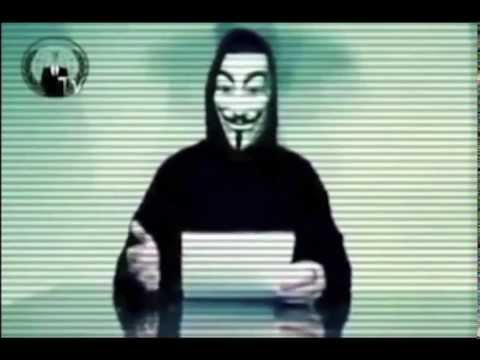A message from Ben Fellows Leader of Anonymous.