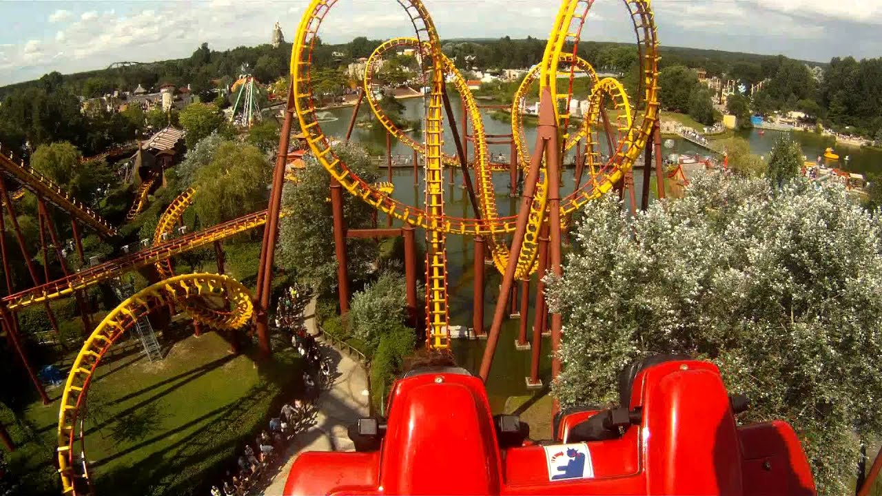 Goudurix Parc Asterix Shot With A Gopro Hd