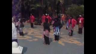 Persatuan Seni Silat Perguruan 3 Serangkai di Festival Hang Tuah - Part 1