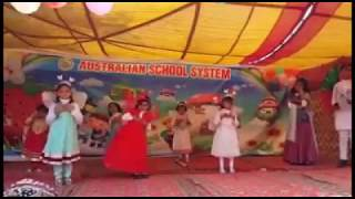 Girls Perform  Songs Songs  phoolon se my khelti ho Annual Function Australian International School