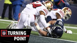 How the 49ers Stuffed the Seahawks in Week 17 | NFL Turning Point