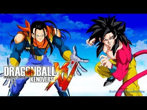 Super Saiyan 4 Goku Vs Super 17 - Dragon Ball Xenoverse Gameplay video