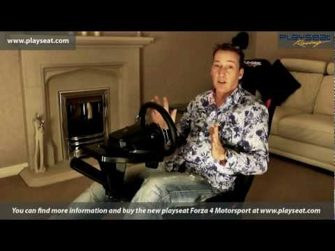 New Playseat & G27 Review Forza 4 GT XBOX PS3 PC WII gaming chair