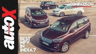 Best MPV in India? Ertiga + Innova + Marazzo + Carnival  | autoX