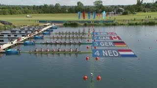 Men's Eight Rowing Heats Highlights - London 2012 Olympics
