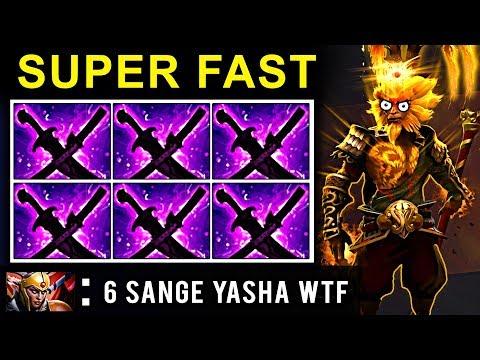 SUPER FAST 6 SANGE YASHA MONKEY KING PATCH 7.09 DOTA 2 NEW META GAMEPLAY #25 (FUNNY MOMENTS)