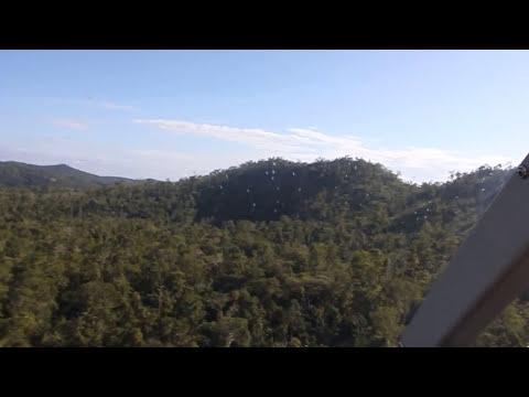 Mayan ruins at El Mirador, Guatemala, helicopter tour