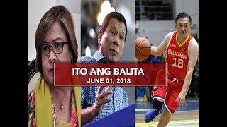 UNTV: Ito Ang Balita (June 01, 2018)