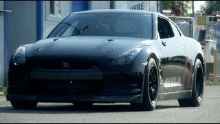 AMS Alpha Omega: World's First 7 Second R35 GT-R! 1/4 Mile
