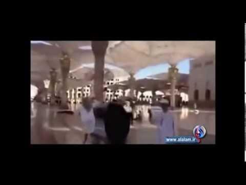 Wahabi dogs abusing Shia Scholars in Mecca