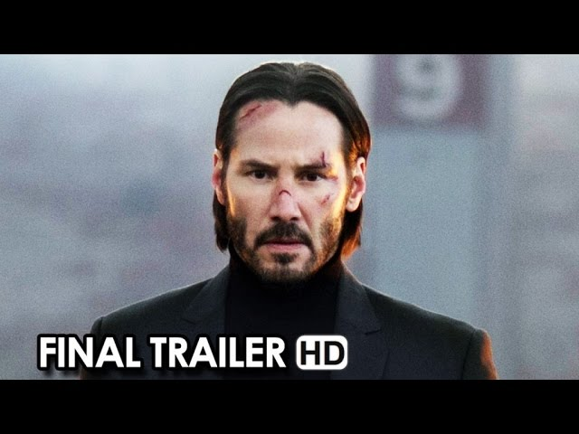 John Wick Final Trailer - He's Back (2014) - Keanu Reeves HD