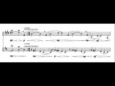 "Violin and Clarinet Duet Based on Amazing Grace - ""Proclamation"""