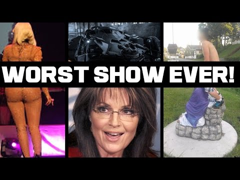 Sarah Palin Apologizes To America -  WORST SHOW EVER
