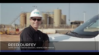 Newfield Exploration Barton Water Recycling Facility, Kingfisher OK