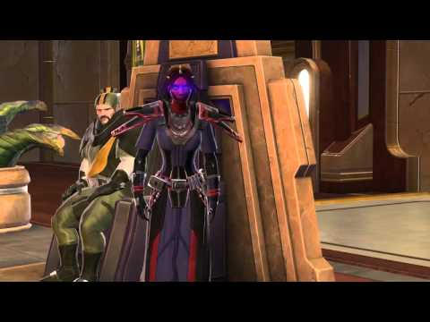 Star Wars: The Old Republic - The Sith Inquisitor trailer