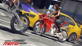 City Turbo Moto Hero - Android Gameplay HD