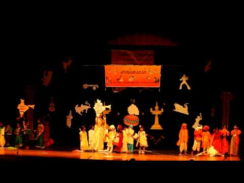 India Patriotic Song - Tamil Kids Skit Dance Performance - Sangamam 2013 video