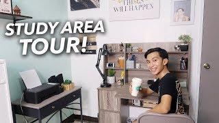 Study / Work Area Tour 2019! (Philippines)