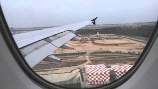 singapore airlines a380 economy class upper deck landing for Auckland to singapore