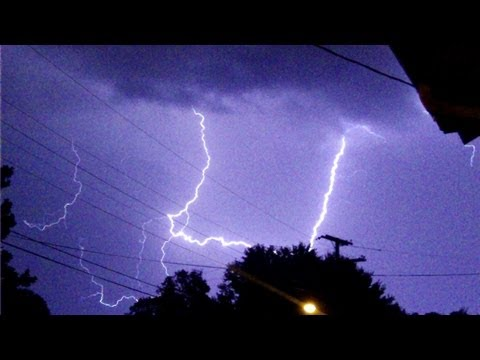 July 8 2012 Lightning Storm 2 video