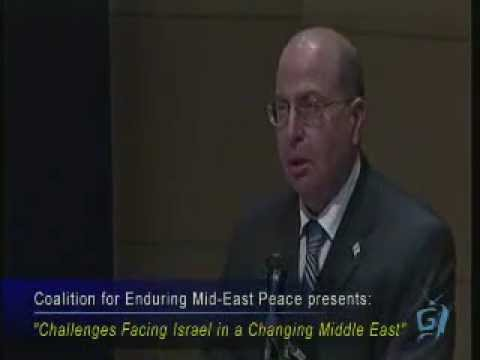Israel's Moshe Yaalon & FIDF's Rabbi Isaac Jeret - The Aspen Institute - 8/3/11