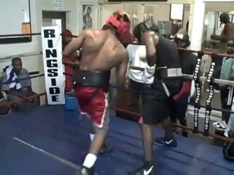 Sparring at Evans' Studio Boxing Club Image 1