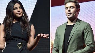 Zac Efron & Priyanka Chopra Tease Baywatch At CinemaCon