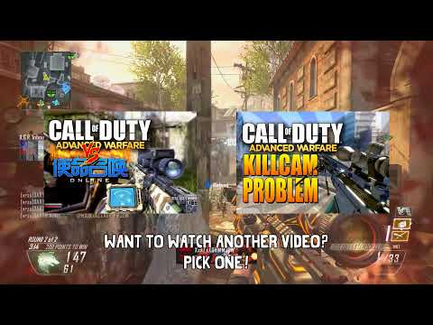 Call of Duty: Advanced Warfare Multiplayer Gameplay Precautions - The Sniper's Handicap