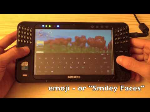 Windows 8 Tablet Samsung Q1 Ultra 7 inch tablet Review