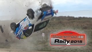 Saaremaa rally 2015. (Action & Crashes)