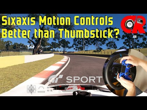 Gran Turismo Sport - Is Sixaxis motion controls better than thumbstick?