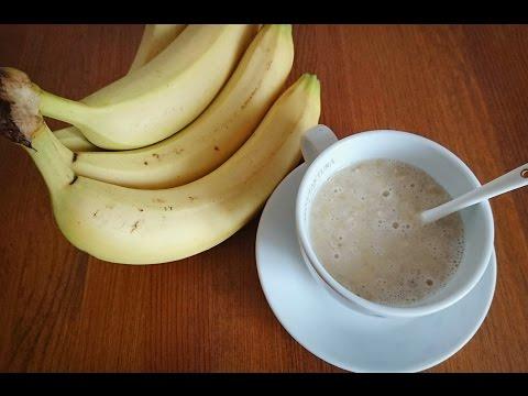 Молоко с бананом от кашля: лечебный и вкусный рецепт