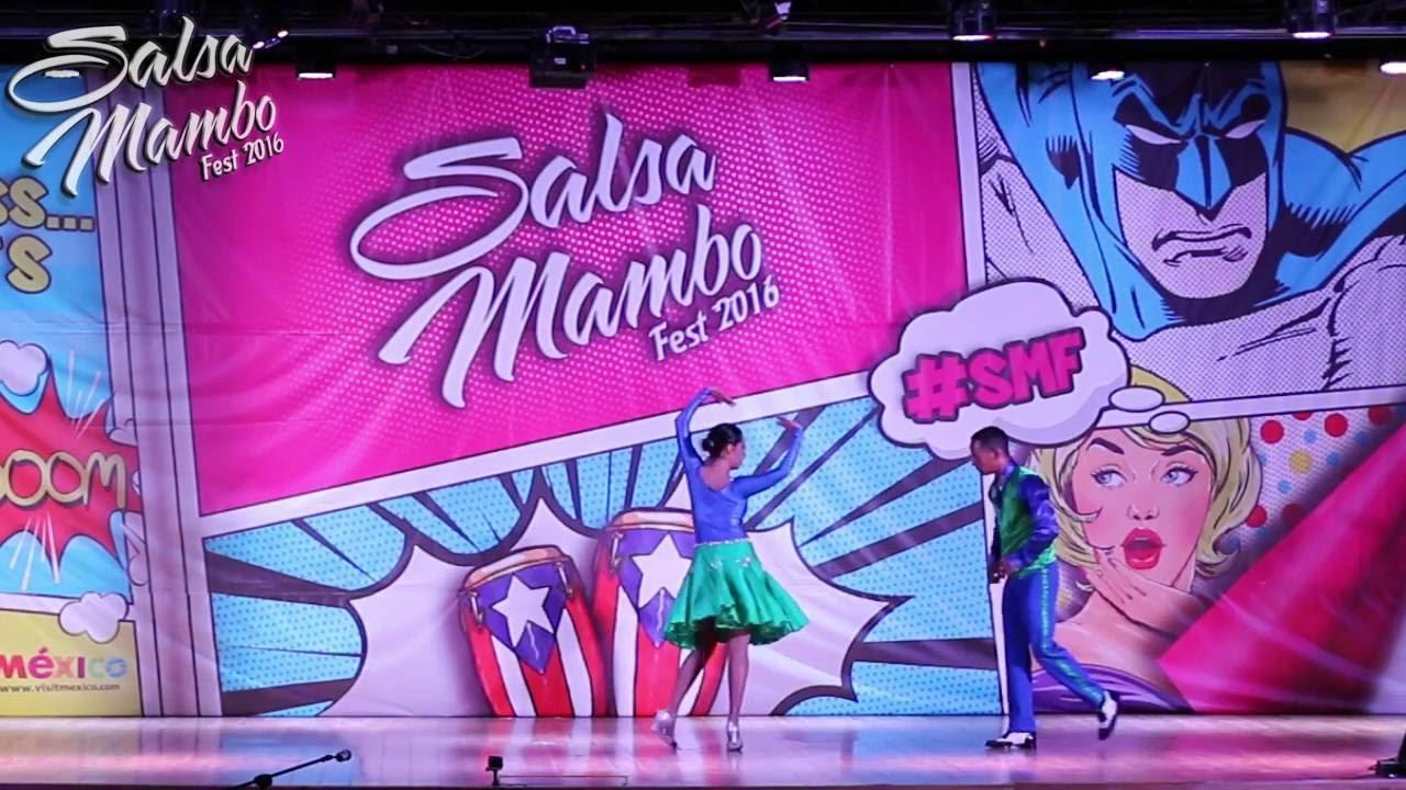 Leslie Vazquez & Omar Yirat | Salsa Mambo Fest 2016