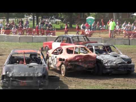 media petrolia demolition derby heat 2 4 6 cylinder