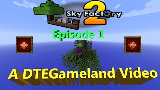 Sky factory 2 Ep 1 Do You Want this to be a Series?
