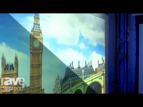 ISE 2017: Comte Vision Features Edge SN Series Zero Edge Fixed Frame Screen