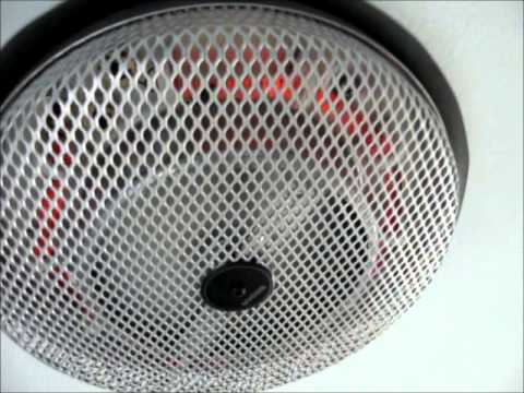 broan nutone electric ceiling heaters modern day youtube