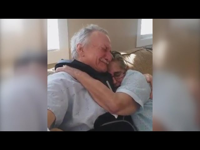 Terminally Ill Couple Reunites After Not Knowing If Either Would Survive