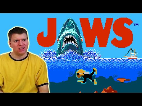 The IRATE Gamer - JAWS NES nintendo Game irategamer