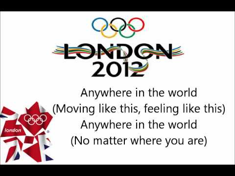 Mark Ronson Anywhere In The World lyrics Featuring Katy B Olympic Song London 2012 HD