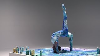 Meghan Currie: Creating Art with Yoga