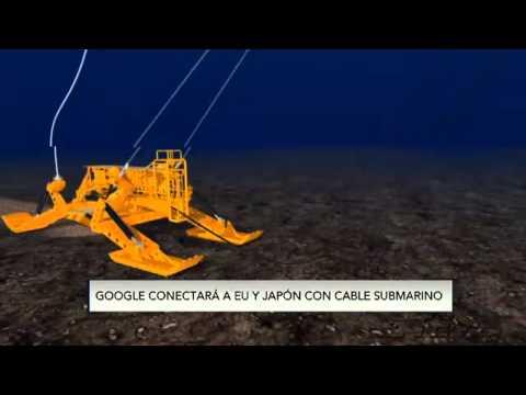 Google conectará a EU y Japón con cable submarino