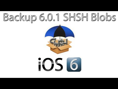 How To Backup Your iOS 6.0.1 SHSH Blobs For