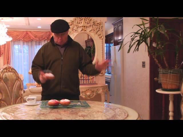 Happy Hanukkah- CHanukkah Doughnut Party