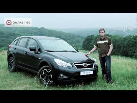 Subaru XV тест драйв