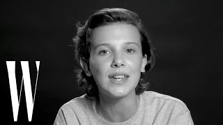 Millie Bobby Brown Sings Bruno Mars